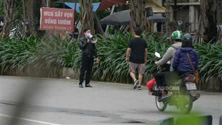 Hanoi tightens control over going out for exercise