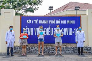 Two foreigners among four patients cleared of COVID-19