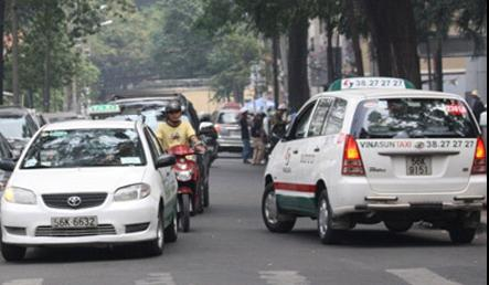 Taxi operations run riot in Hanoi