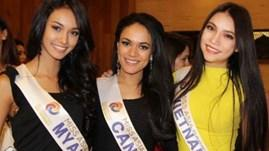 Vietnam competes in Miss Asia-Pacific World 2014