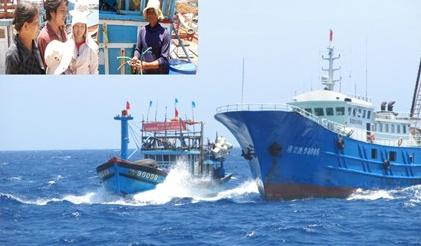 Fishermen take stand against Chinese confiscations