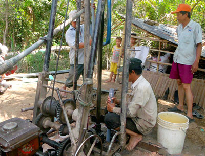 Over-exploitation depletes, pollutes Ca Mau water
