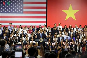 US President meets YSEALI members in HCM City