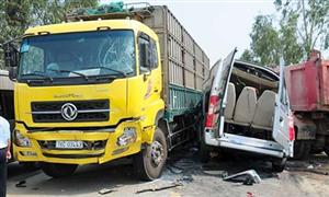 111 people killed in traffic accidents during four-day holiday