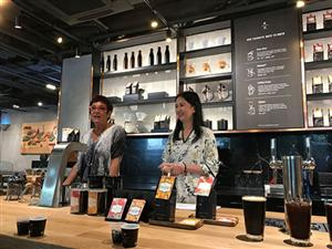 Starbucks opens first Starbucks Reserve Coffee Bar