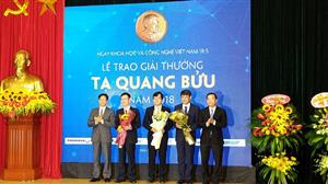 Three scientists honoured with Ta Quang Buu Award