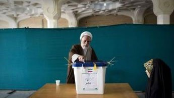 Iran began voting on Friday to elect the successor of President Mahmoud Ahmadinejad, the state television announced. The vote pitches a divided conservative camp against a moderate candidate who enjoys the backing of the reformists.