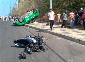 Traffic accidents in Hanoi outskirts increase