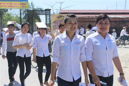 East Sea tension included in high school graduation exam