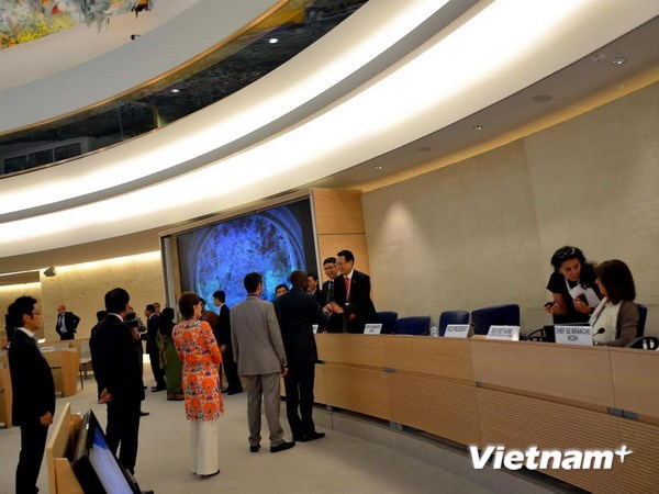 UNHRC approves Vietnam human rights report