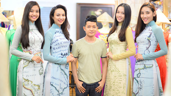 Fashion show themed East Sea sovereignty in France