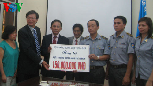 OVs in Poland raise funds for Vietnam Coast Guard force