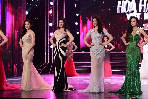 Miss Vietnam pageant names final round contestants
