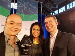 Vietnamese entrepreneur wins first place in US competition