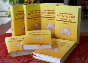 New book highlights public trust in Party leader-President Nguyen Phu Trong