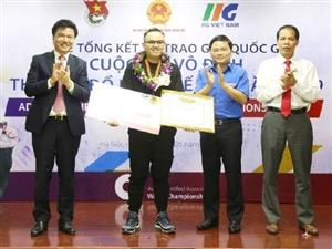 Vietnamese students win ticket to ACAWC's final round