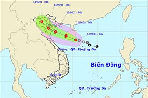 Tropical low depression to strengthen into storm, threaten northern Vietnam