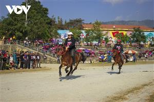 Bac Ha horse race becomes national intangible heritage