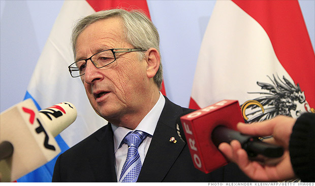 Luxembourg's PM Juncker to resign over spy scandal