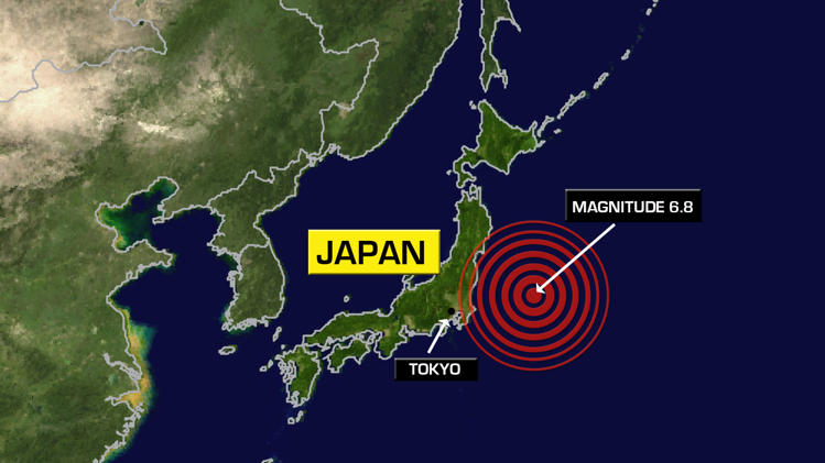 Minor tsunami hits northeastern Japan after strong quake