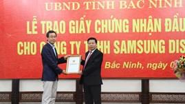 Samsung Display gets green light for US$1 bil project in Bac Ninh