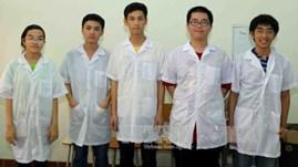 Vietnamese students excel at physics comp