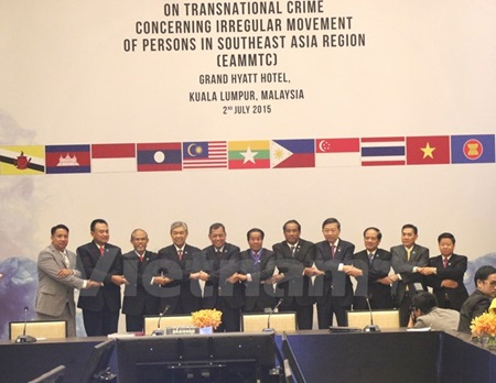 ASEAN to curb 'irregular movement of persons'