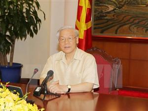 Party leader leaves for official visit to US