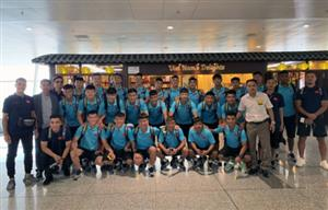 U18 team to train in Japan