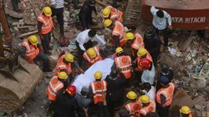 Building collapses outside Mumbai after heavy rain; 12 dead