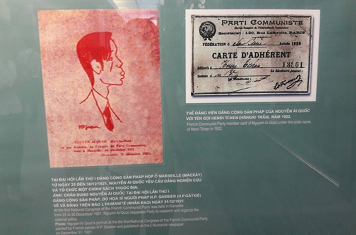 Exhibition showcases Nguyễn Ái Quốc's life in France