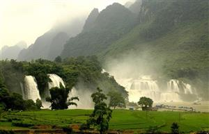 Plans to develop Ban Gioc waterfall tourism announced
