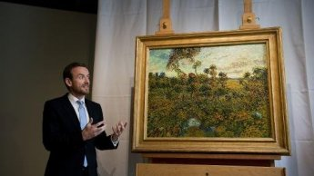 Long lost Van Gogh painting of French oaks unveiled