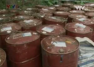 Pesticide maker closed for dumping toxic waste