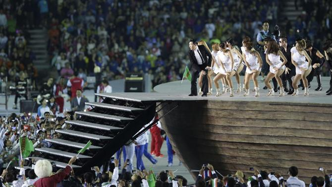 Asian Games Opening Ceremony Closes Gangnam Style