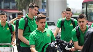 U19 Australia arrives in Hanoi for Nutifood Cup