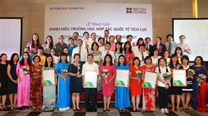 British Council honours 12 international schools in Vietnam
