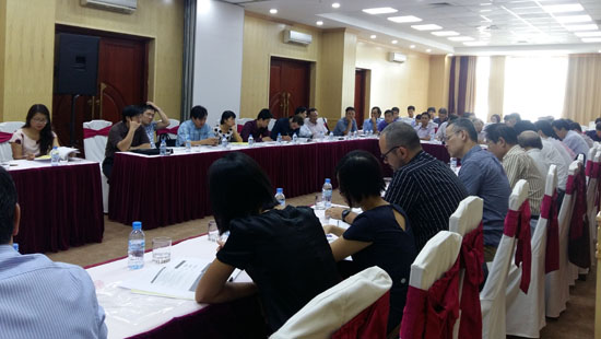 Rural infrastructure vulnerability assessment discussed in Hanoi