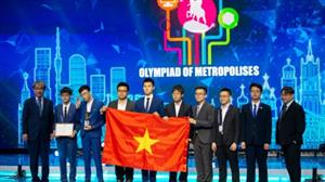 Vietnamese students won three golds at IOM 2019
