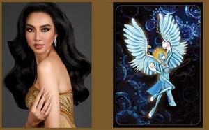 Vietnamese beauty selects national costume named 'Angel
