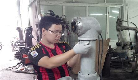 Vietnamese academy creates robotic arm