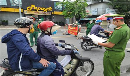 HCM City removes all Covid-19 checkpoints at gateways