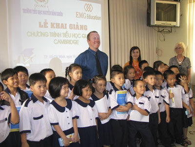 Foreign English language teachers for schools in Vietnam