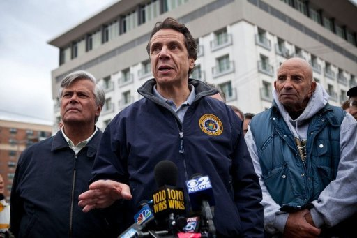 New York governor seeks $30 bn in aid after Sandy
