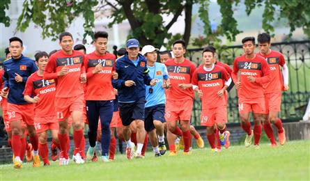 Vietnamese football team coach calls for fan support