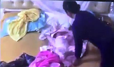 Babysitter found mistreating two-month-old