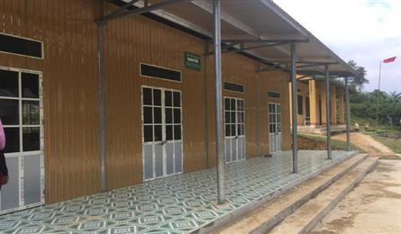 Dantri/DTiNews classrooms built in Thanh Hoa
