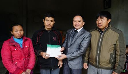 DTiNews readers support ailing father and daughter in Nghe An