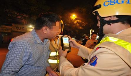 Hanoi sees sharp fall in traffic accidents following zero-tolerance alcohol policy