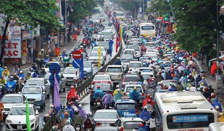 Hanoi to revoke out-dated motorbikes to reduce air pollution